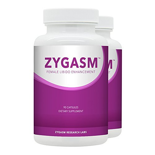 Zygasm (2 bottles) - Best Female Libido Booster - All-Natural Enhancement Supplement For Women (90 Caps Each) by SNC Labs