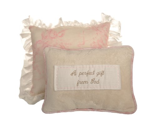 Cotton Tale Designs Heaven Sent Girl Pillow Pack (Cotton Tale Elephant)