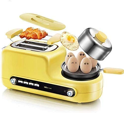 CattleBie パン製造機、トースターホーム2スライス朝食トーストオーブントースター自動トースト