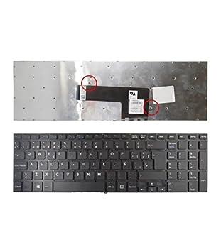 Portatilmovil - Teclado para PORTATIL Sony VAIO SVF15 SVF153A1YM SVF1521F6E: Amazon.es: Electrónica
