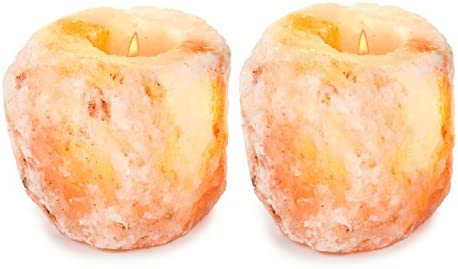 home, kitchen, home décor, candles, holders, candleholders,  tea light holders 5 picture HemingWeigh Himalayan Natural Crystal Salt Rock Tea Light in USA