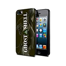 Ghost in the shell Cartoon Manga Game Gio2 Case Cover Protection for iPhone 5c Black Silicone