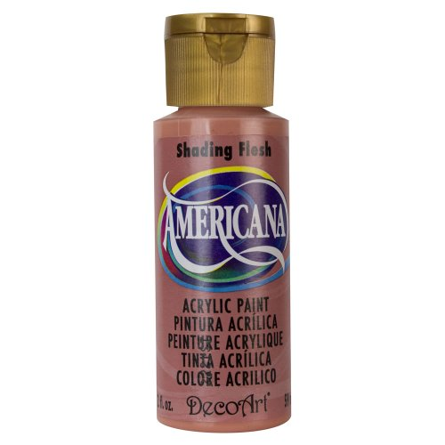 DecoArt Americana Acrylic Paint, 2-Ounce, Shading Flesh