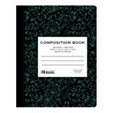 Bazic Quad-Ruled Green Marble Composition Book Case Pack 48
