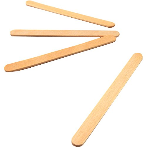 Wood Popsicle Sticks Box Of 1000 4 5 Inches Long