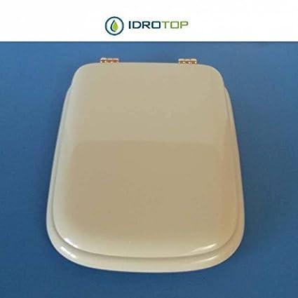 Sedile Conca Ideal Standard Originale.Acb Colbam Copriwater In Legno Rivestito Di Poliestere Per Ideal
