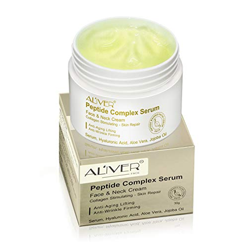 41mqvBJ3HLL - Peptide Wrinkle Cream,Anti-Wrinkle Cream,Anti aging serum,Collagen Peptides For Skin and Neck Moisturizer Cream Firming,Fights the Appearance of Wrinkles, Fine Lines,Best Day and Night