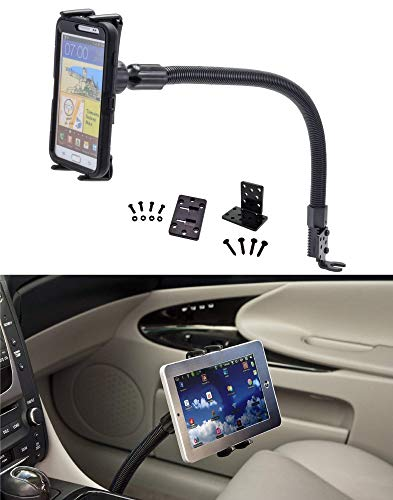 Digitl 2-in-1 Cell Phone Car mount or Tablet Car Holder w/Flexy Neck for  Apple iPad Mini, iPhone XS MAX XR 8/8 Plus, Samsung Galaxy Note 10 9  S10/S10