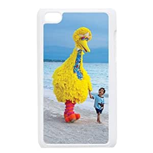 Big Bird Image On The iPod 4 White Cell Phone Case AMW897018