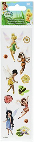 (Disney Fairies Slims Dimensional Stickers)