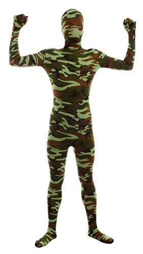 Sheface Mens an Womens Fullbody Zentai Spandex Costume Bodysuits