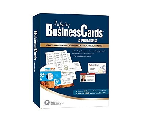 Global BizForce Infinity Business Cards & ProLabels 8.5 - Windows