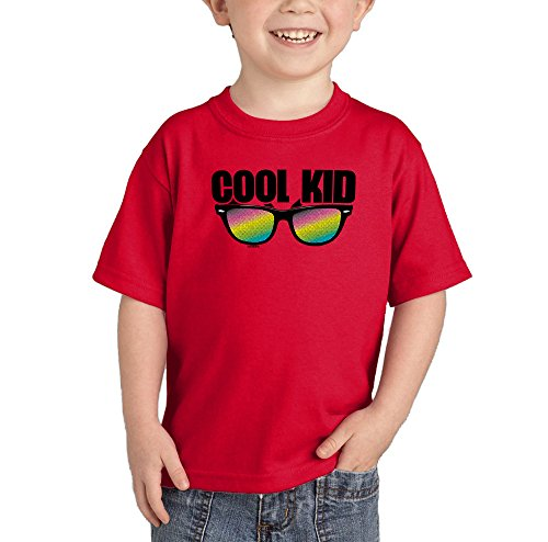 Toddler/Infant Cool Kid - Rainbow Sunglasses T-shirt (3T, - Bacon Sunglasses