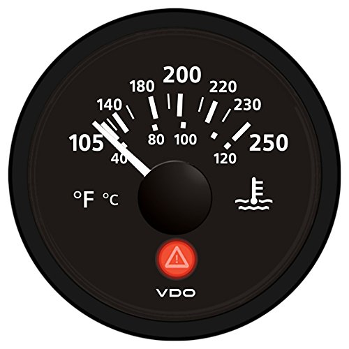 - VDO A2C53413386-S Temperature Gauge