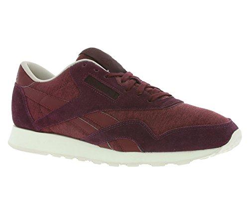 Reebok Nylon Violett Herren J Schuhe Sportschuhe Sneaker CL AR0898 Violett 66UvqrT