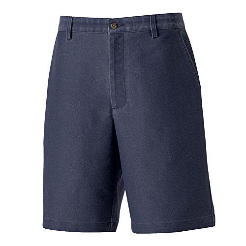 FootJoy Washed Twill Golf Shorts Navy - Shorts Golf Footjoy