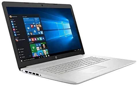 "Newest HP 17.3"" FHD Laptop for Business and Student, 10th Gen Intel Quad-Core i5-10210U 12GB RAM 128GB SSD + 1TB HDD DVD Writer, Backlit Keyboard, Win10 Pro   32GB Tela USB Card WeeklyReviewer"