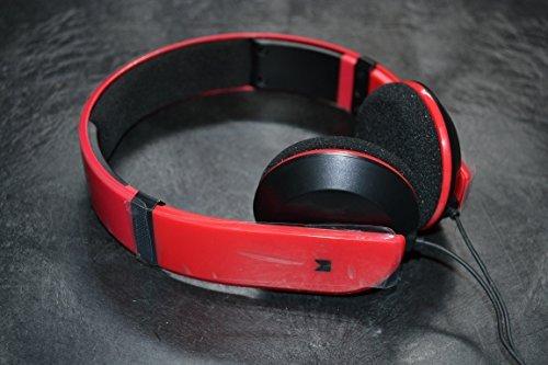 Modal MD-HPOE01-R On-Ear Headphones Red