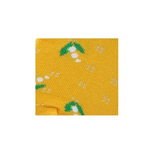 Coton Jaune Fleurs Achile En Socquettes qxaaSfZ