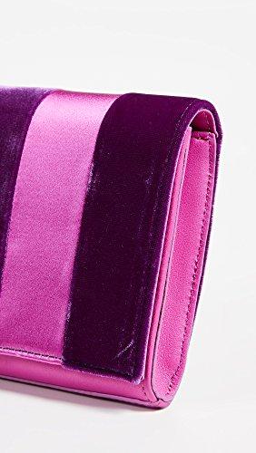 Furstenberg Diane Velvet von Multi Pink Ribbon Clutch Women's v44FRq