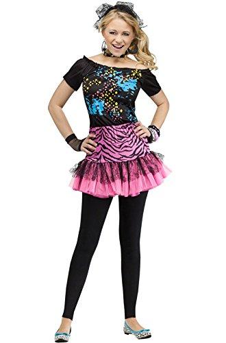 [Teen 80s Pop Party Costume Teen] (Halloween Costumes For Girl Teenagers)