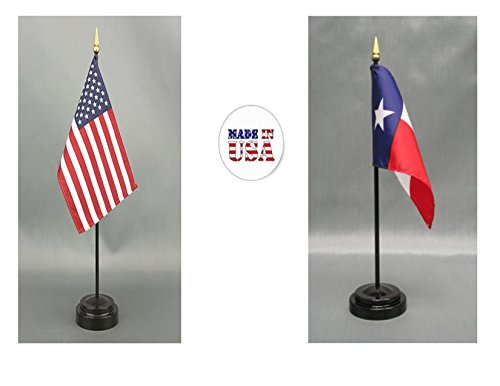 (Made in The USA. 1 American and 1 Texas 4