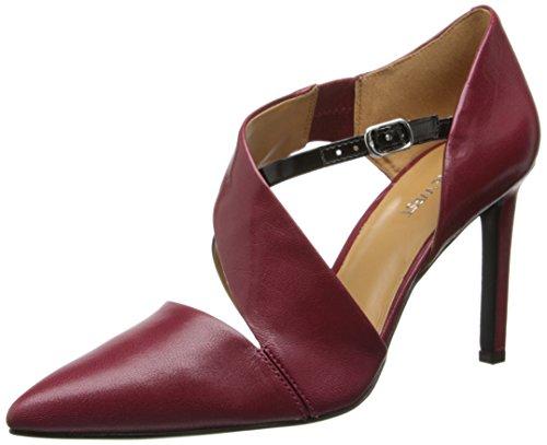 Nine West - Zapatos de vestir para mujer rojo y negro