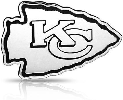 Kansas City Chiefs Chrome Auto Emblem