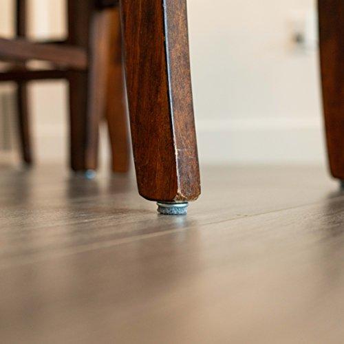 haggiy Felt Glides - Furniture Sliders with Screw - Nickel-Plated Ø 0.708'' (16 Pcs.) by haggiy (Image #6)