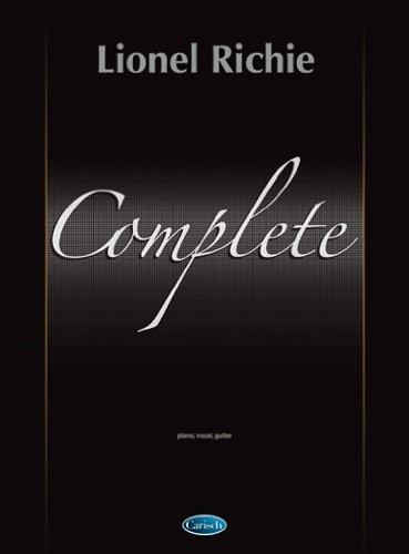 COMPLETE (Inglese) Copertina flessibile – 1 gen 2010 Lionel Richie Carisch 8850703597 Pop music