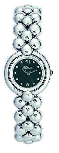 Michel Herbelin 17070-B14 Ladies Chic Silver Steel Bracelet Watch