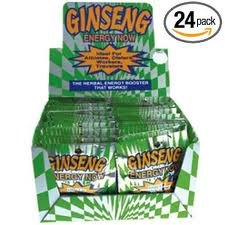 ENERGY NOW GINSENG HERBAL SUPPLEMENT (Pack of 24)