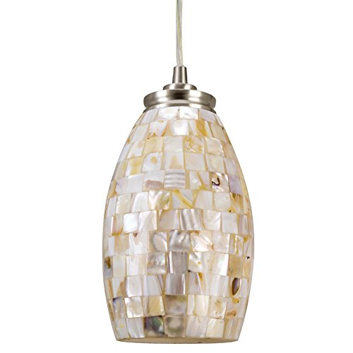 Mosaic Shell Pendant Light