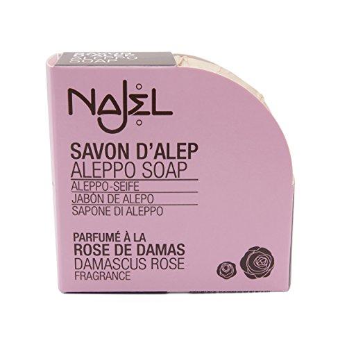 Najel Aleppo-Seife - Damaszener Rose, 100 g