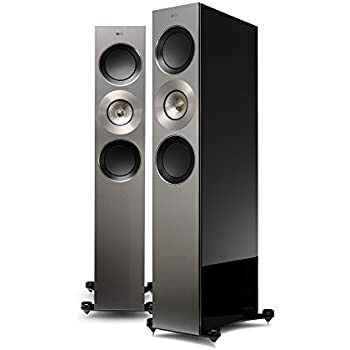 kef r900. kef reference 3 floorstanding loudspeaker - high gloss piano black (pair) kef r900 9
