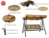 Kozyard Belle 3 Person Outdoor Patio Swing with