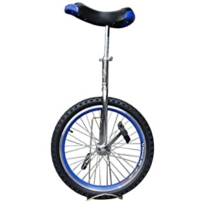 """Fantasycart Unicycle 20"""" In & Out Door Chrome colored, Brand New!Great gift!!skidproof tire! Thanksgiving Christmas"""