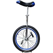 "Fantasycart Unicycle 20"" In & Out Door Chrome colored, Brand New!Great gift!!skidproof tire! Thanksgiving Christmas"