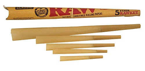 RAW Classic Natural Unrefined Pre-Rolled Cones, Variety Pack