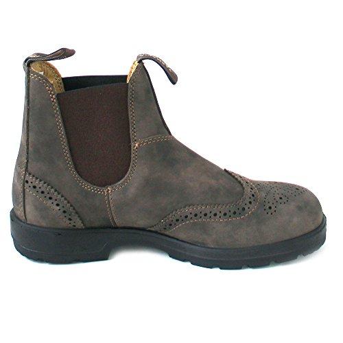 Stivali Cuoio Uomo Blundstone Rustic Scarpe 1471 di Brown Marrone 1qwxEXFgfx