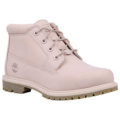 Timberland Womens Nellie Chukka Double Nubuck Chintz Rose Boots 6.5 US