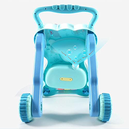 Ybriefbag-Toys Baby Three-in-one Activity Walker Infant and Child Anti-Rollover Walker 6-18 Months Baby Multi-Function Walker Trolley Toy (Color : Blue, Size : 42.34533.5CM) by Ybriefbag-Toys (Image #4)