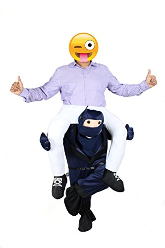 Ride Me Adult Carry On Fancy Dress Piggy Back Mens Costume by You Look Ugly Today (Funny Santa Costumes)