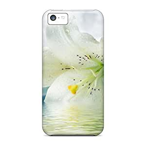 diy phone caseFor Iphone Cases, High Quality White Lilies For iphone 4/4s Covers Casesdiy phone case