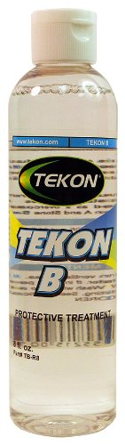 TEKON B is a hydrophobic (water repellent), oleophobic (oil repellent) and anti-static protective sealer treatment. (8 fl. oz.)