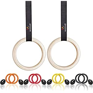 Wacces Exercise Fitness Gymnastic Rings