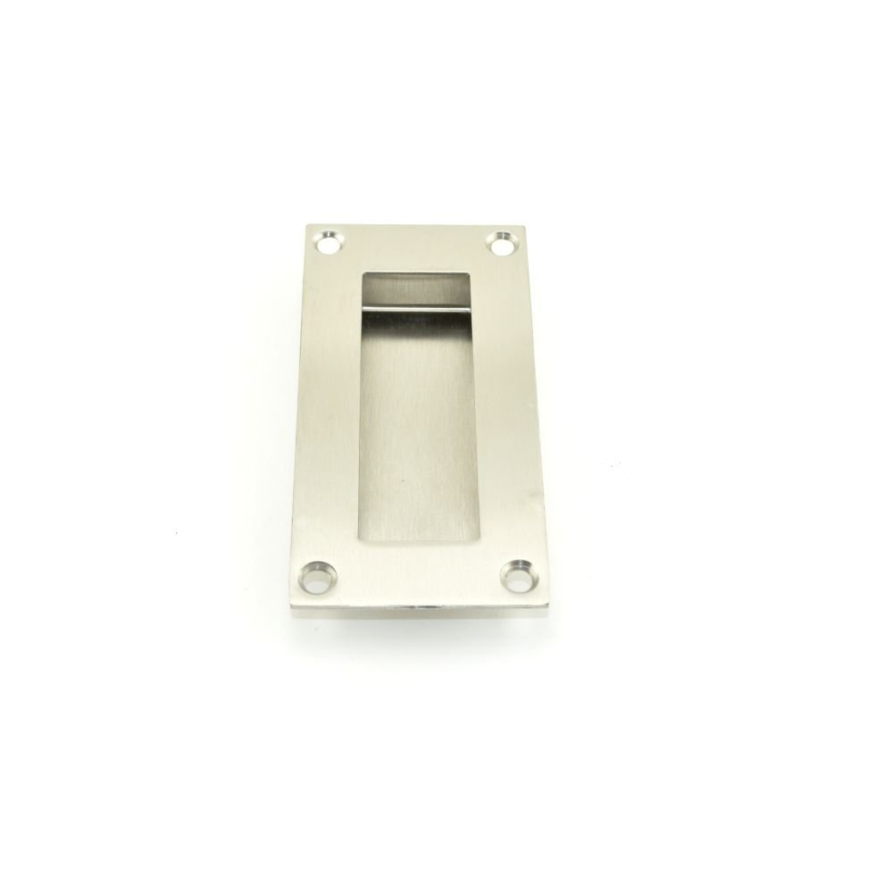 Deltana FP155U32D Rectangular Stainless Steel 4-Inch x 1-Inch x 1/2-Inch Flush Pull