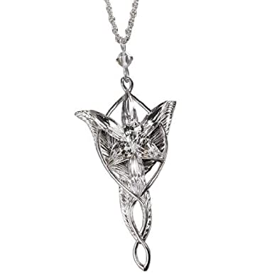 Amazon arwen evenstar pendant lord of the rings chain arwen evenstar pendant lord of the rings aloadofball Image collections