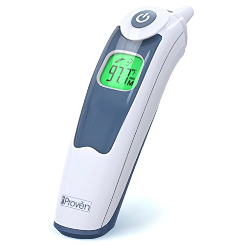 iProvèn Medical Ear Thermometer with Upgraded Lens Technology Suitable For Baby, Infant, Toddler and Adults - FDA approved - ET-828