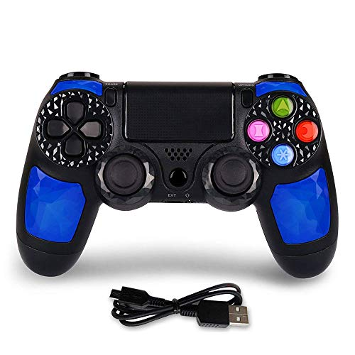 PS4 Controller Wireless Bluetooth Gaming Controller Dual Shock Gaming Joystick with Touch Pad High-Precison Joystick for Playstation 4 / PS4 ()
